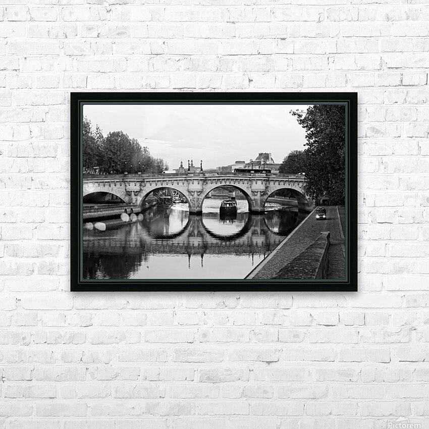 The barge HD sublimation métal imprimé avec décoration flotteur cadre (boîte)