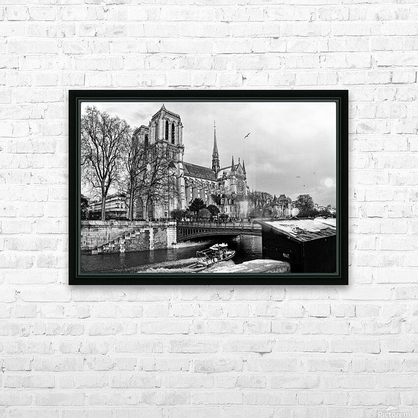 Parisian river police HD sublimation métal imprimé avec décoration flotteur cadre (boîte)