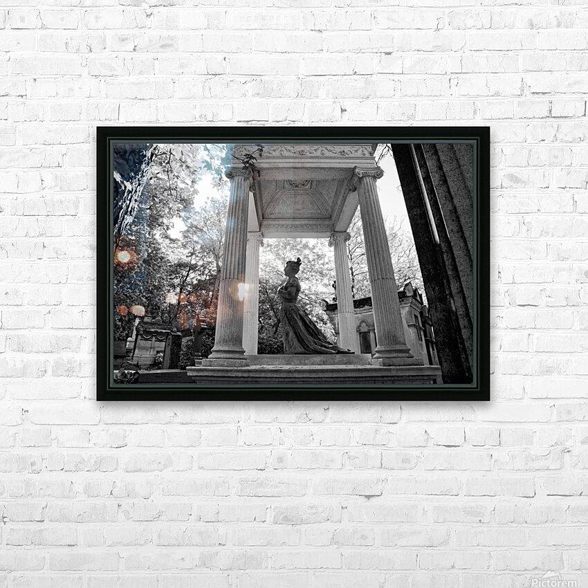 Graveyard lady HD sublimation métal imprimé avec décoration flotteur cadre (boîte)