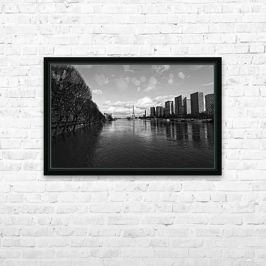 Flood reflection HD sublimation métal imprimé avec décoration flotteur cadre (boîte)