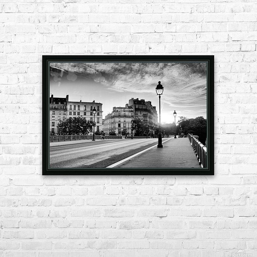Sully bridge sunrise HD sublimation métal imprimé avec décoration flotteur cadre (boîte)