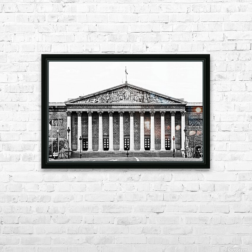 Bourbon palace HD sublimation métal imprimé avec décoration flotteur cadre (boîte)