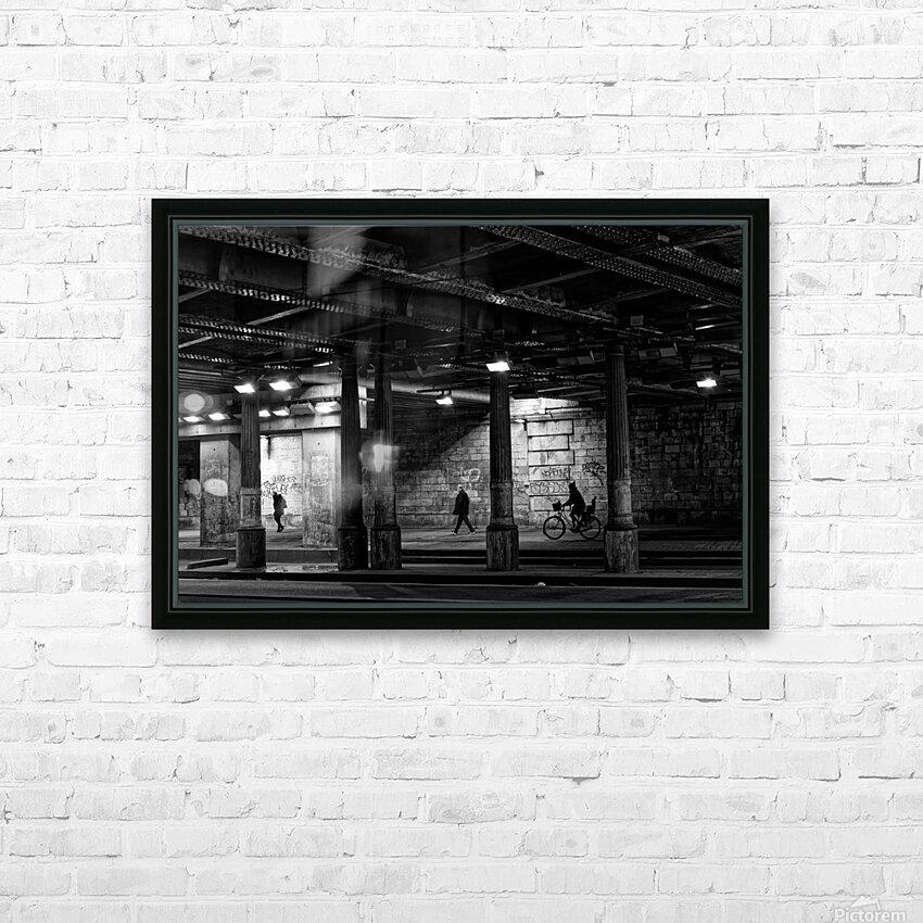 Brancion tunnel HD sublimation métal imprimé avec décoration flotteur cadre (boîte)