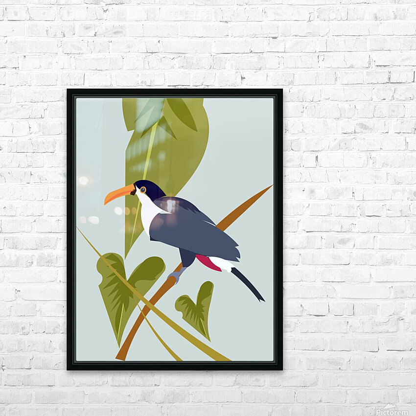Toucanish HD Sublimation Metal print with Decorating Float Frame (BOX)