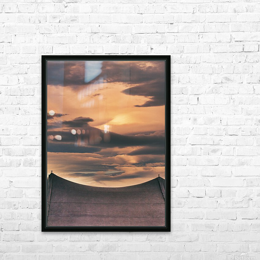 One On Each Point HD Sublimation Metal print with Decorating Float Frame (BOX)