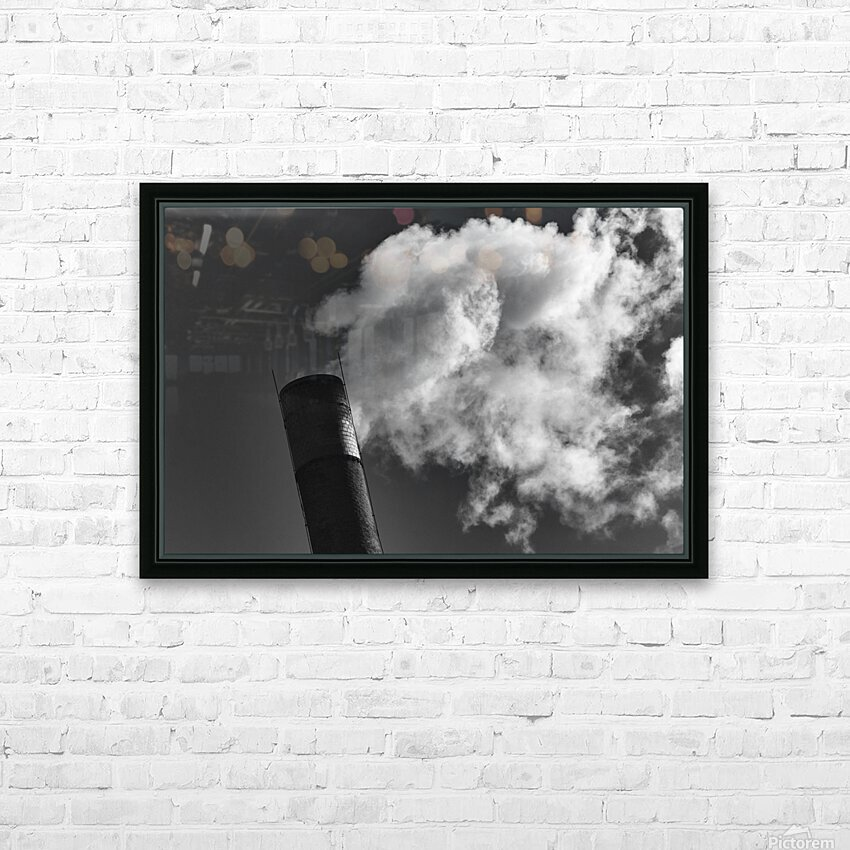 SMOKESTACK NUMBER TEN HD Sublimation Metal print with Decorating Float Frame (BOX)