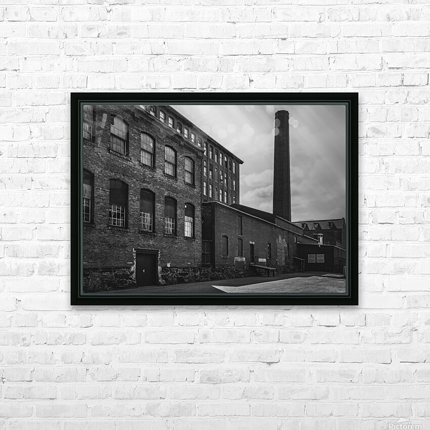 SMOKESTACK NUMBER ELEVEN HD Sublimation Metal print with Decorating Float Frame (BOX)