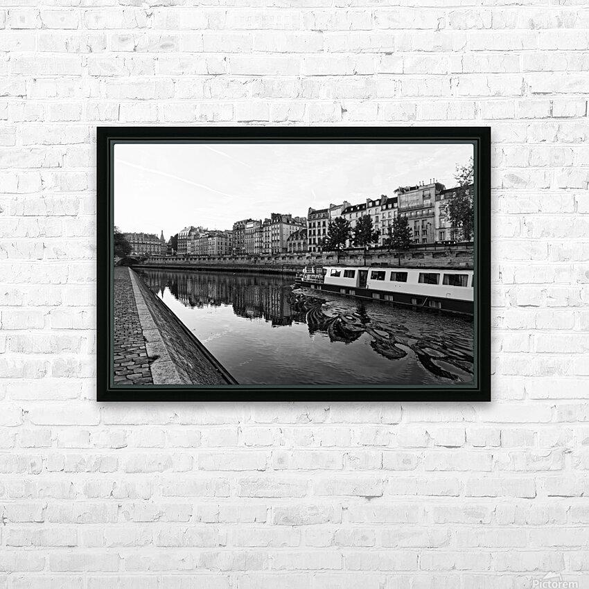 River cruise HD sublimation métal imprimé avec décoration flotteur cadre (boîte)