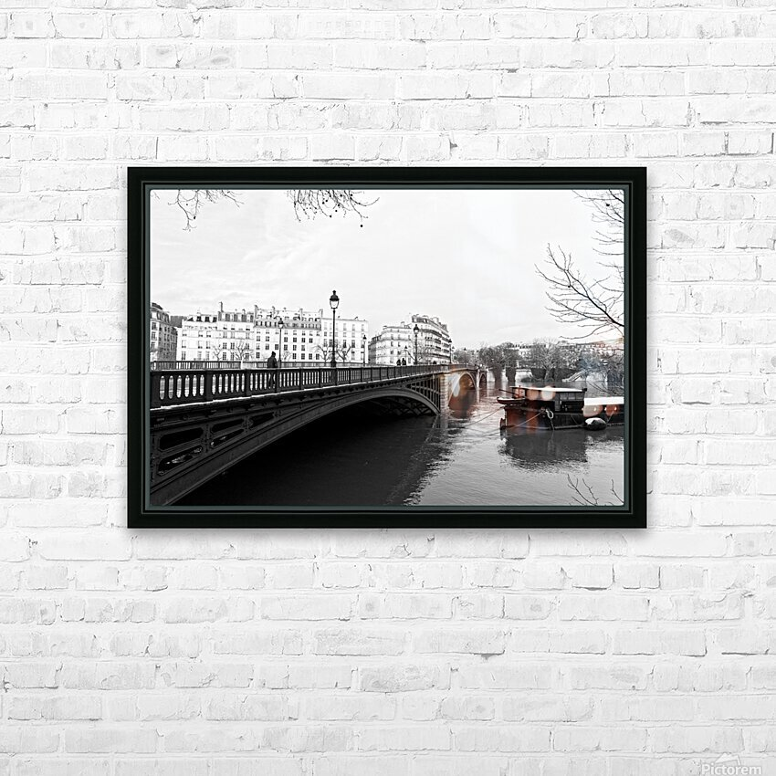 Winter day HD sublimation métal imprimé avec décoration flotteur cadre (boîte)