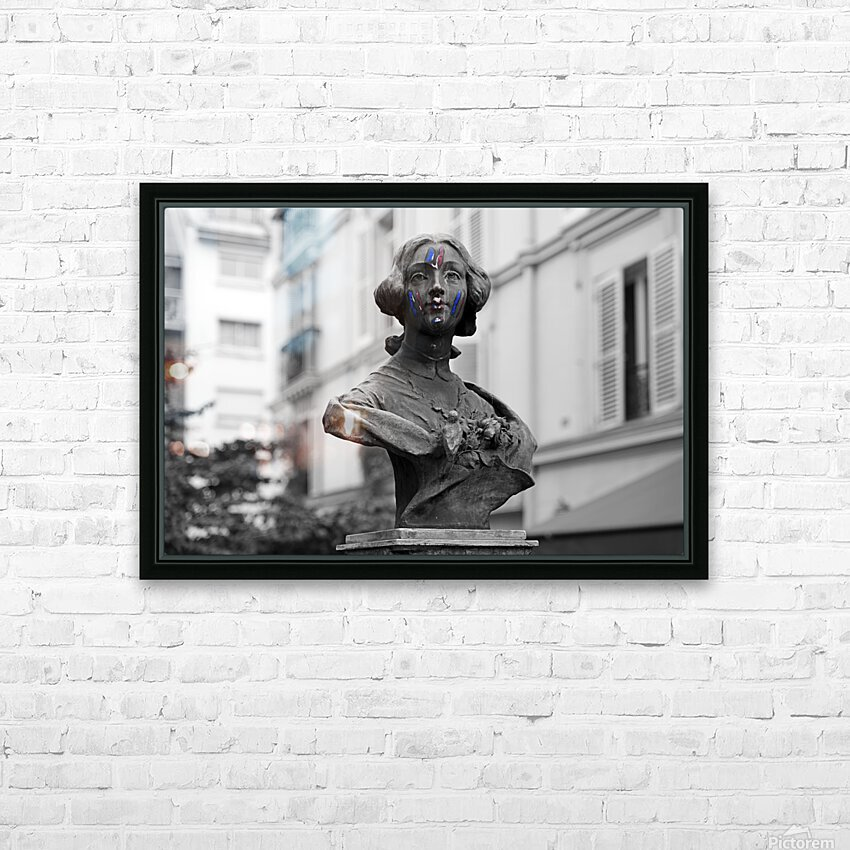 French colors HD sublimation métal imprimé avec décoration flotteur cadre (boîte)