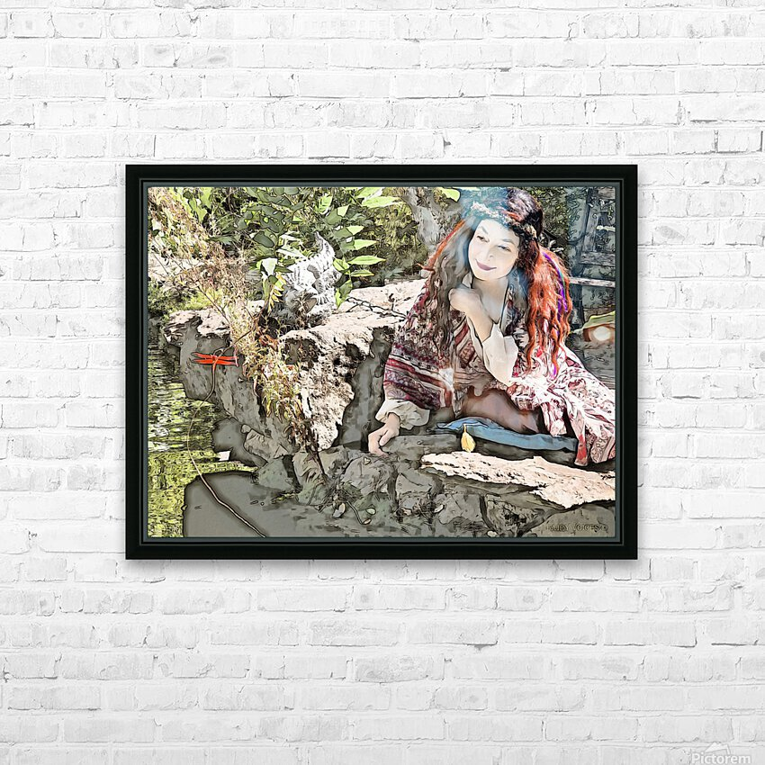 A FAIRY TALE STORY -Art- Photo  1-4  HD Sublimation Metal print with Decorating Float Frame (BOX)