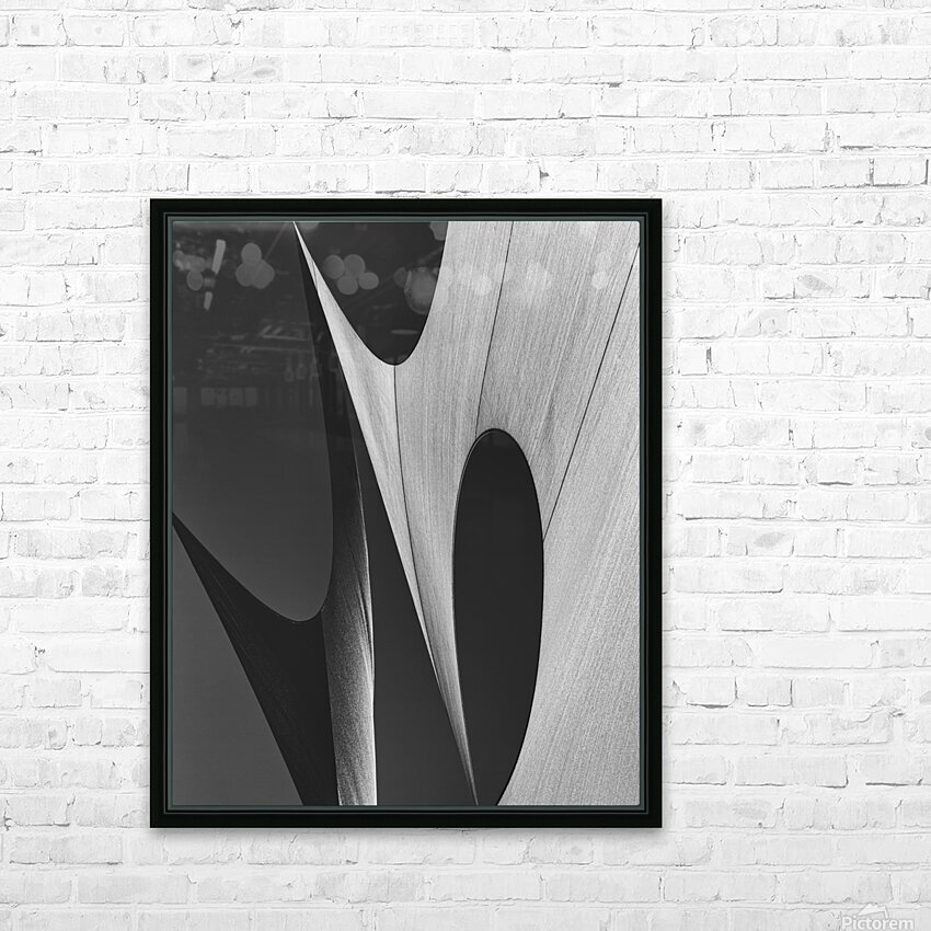 Abstract Sailcloth 11 HD Sublimation Metal print with Decorating Float Frame (BOX)