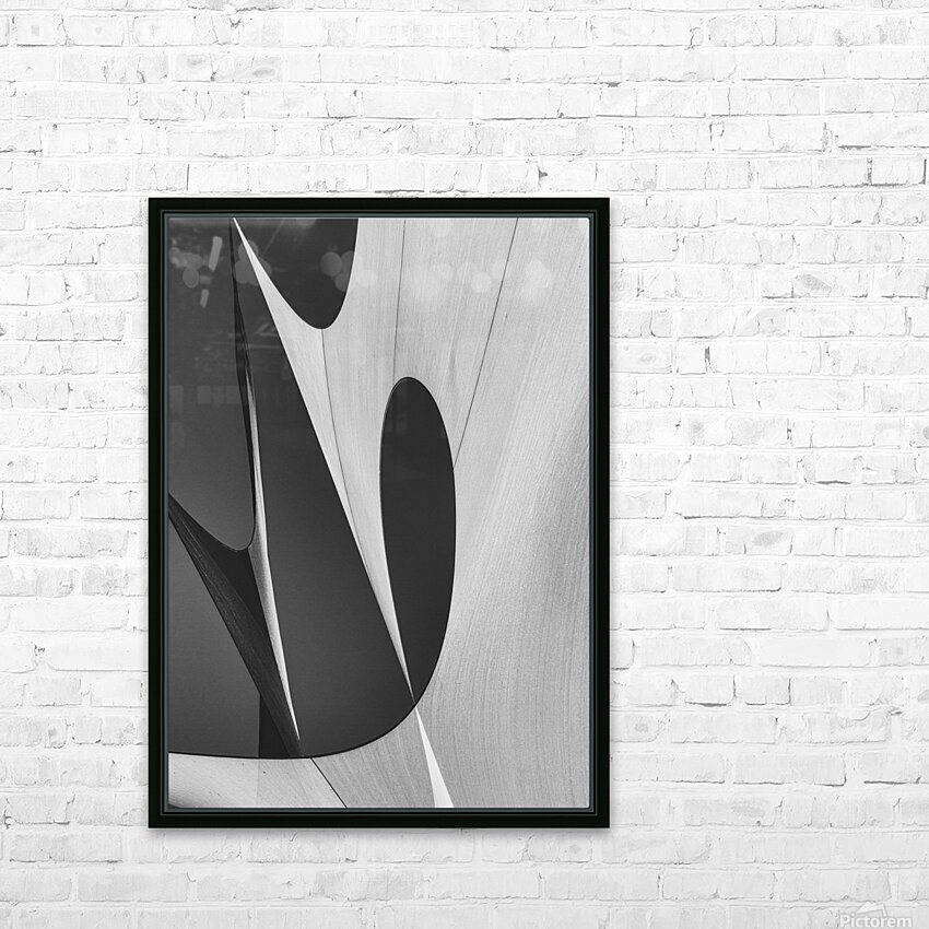 Abstract Sailcloth 10 HD Sublimation Metal print with Decorating Float Frame (BOX)