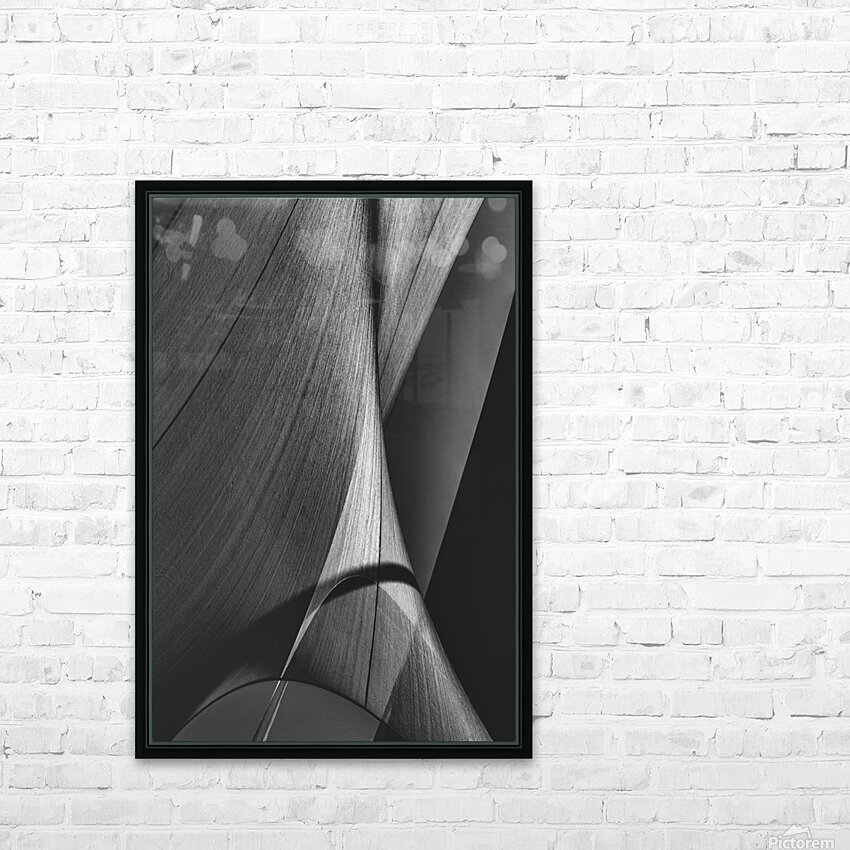 Abstract Sailcloth 17 HD Sublimation Metal print with Decorating Float Frame (BOX)