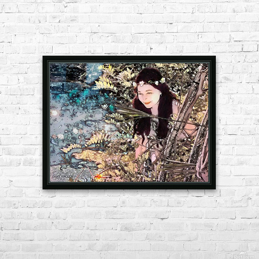 FAIRY AND THE LAKE  Art-Photo 1-4  HD Sublimation Metal print with Decorating Float Frame (BOX)