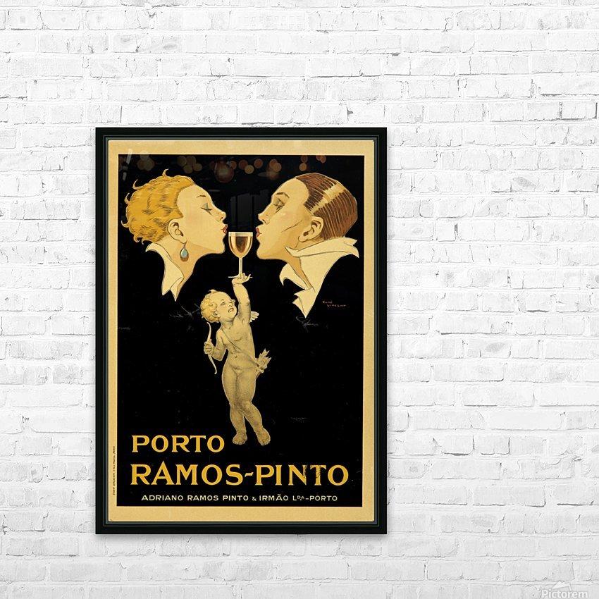 Porto Ramos - Pinto Original Poster HD Sublimation Metal print with Decorating Float Frame (BOX)