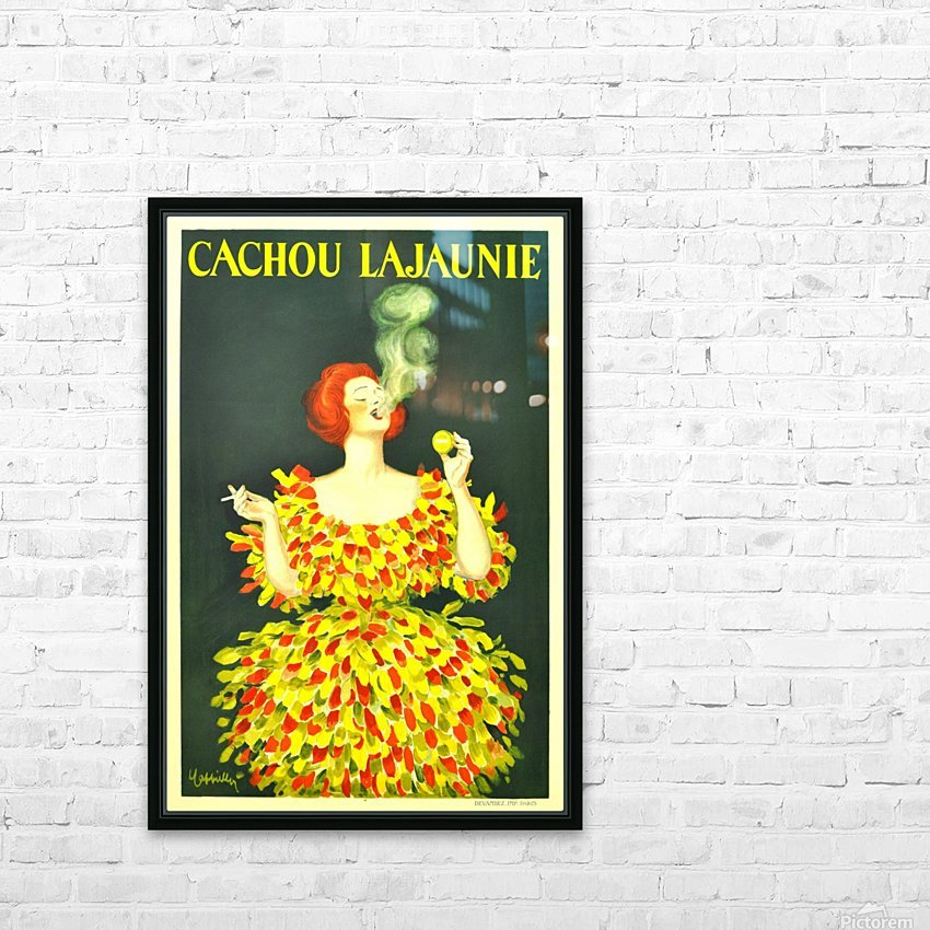 Cachou Lajaunie HD Sublimation Metal print with Decorating Float Frame (BOX)