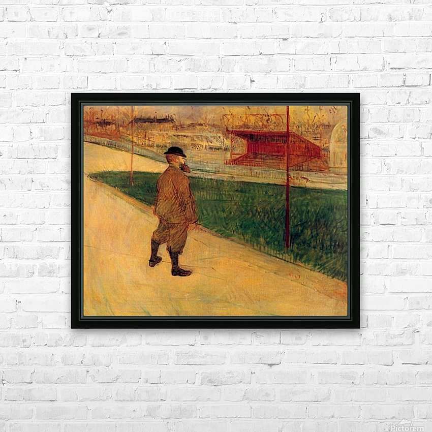 Tristan Bernard by Toulouse-Lautrec HD Sublimation Metal print with Decorating Float Frame (BOX)