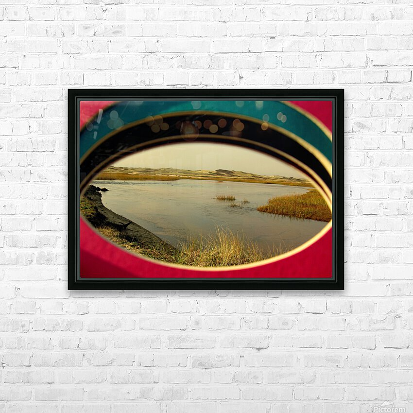 Eyeing the Cape HD Sublimation Metal print with Decorating Float Frame (BOX)