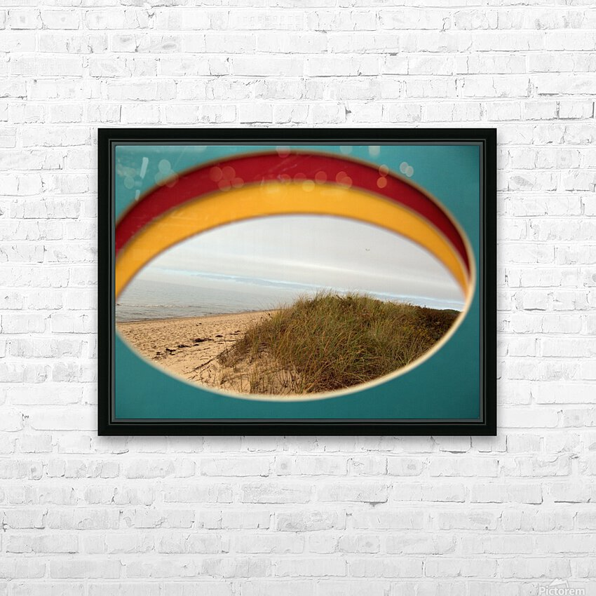Absorbed-in-Ocean HD Sublimation Metal print with Decorating Float Frame (BOX)