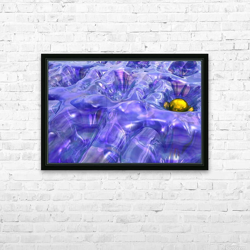 L intrus HD Sublimation Metal print with Decorating Float Frame (BOX)