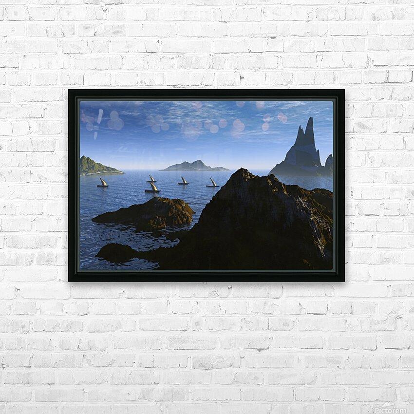 jason et la tooison HD Sublimation Metal print with Decorating Float Frame (BOX)
