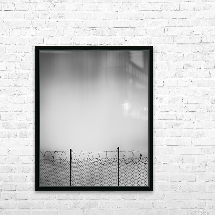 Restricted Zone HD Sublimation Metal print with Decorating Float Frame (BOX)