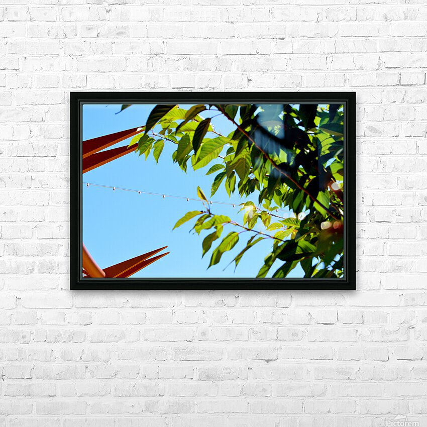 Light Up HD Sublimation Metal print with Decorating Float Frame (BOX)