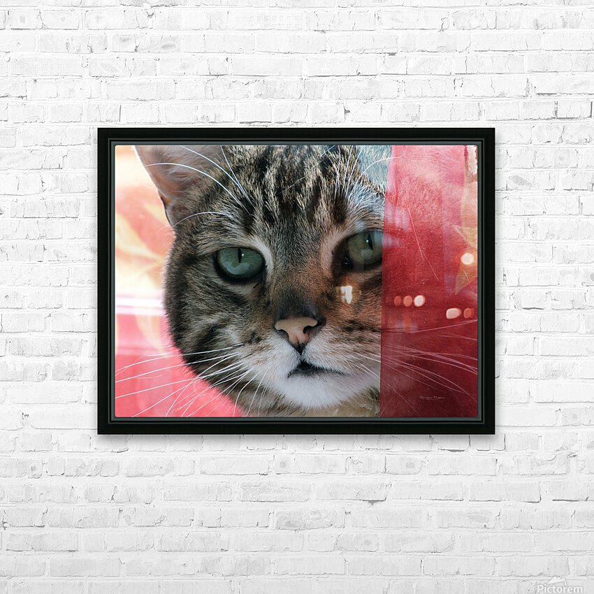 malou01 HD Sublimation Metal print with Decorating Float Frame (BOX)