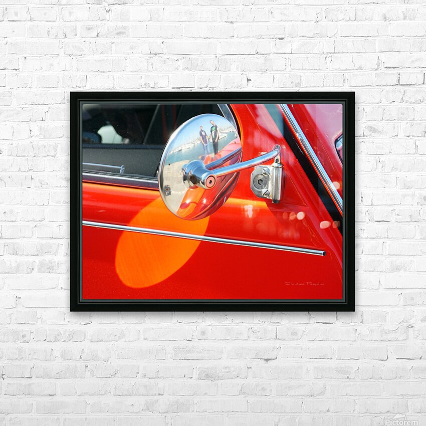 retro dedeuch HD Sublimation Metal print with Decorating Float Frame (BOX)