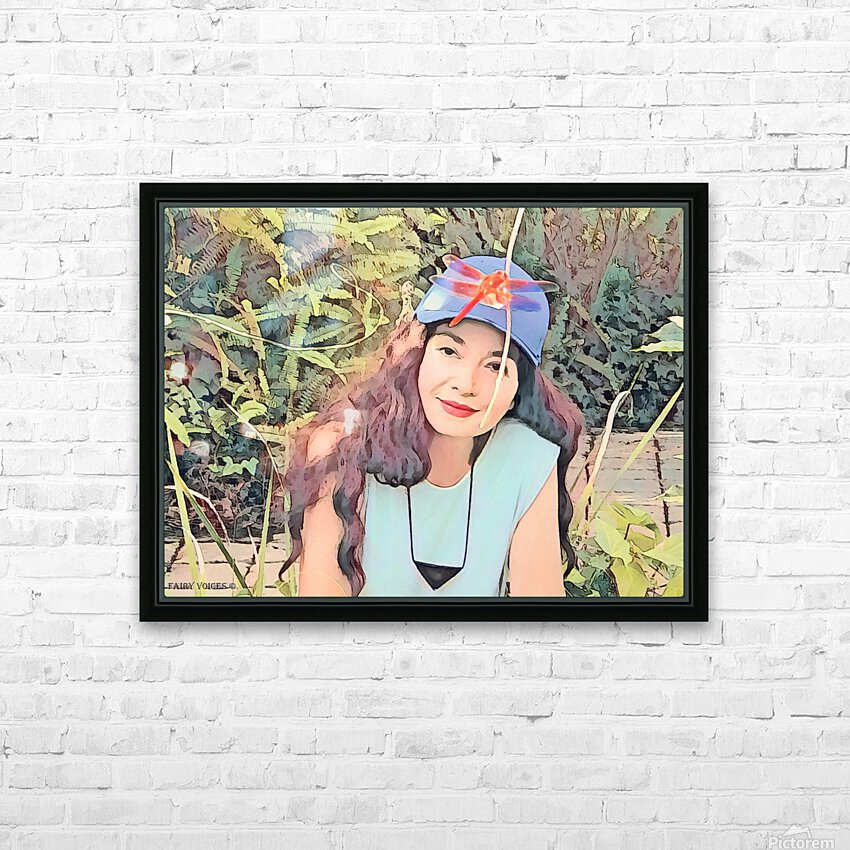 YOU ARE MY JEWEL -Art-Photo  2-5 HD Sublimation Metal print with Decorating Float Frame (BOX)