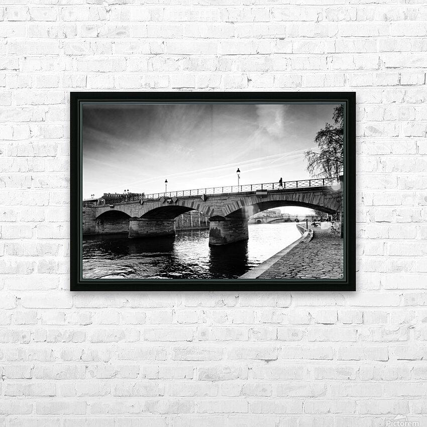 Archeveche bridge HD sublimation métal imprimé avec décoration flotteur cadre (boîte)