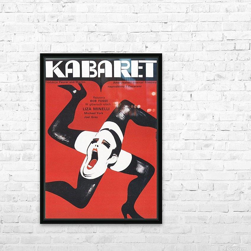 Polish Film Poster Cabaret Wiktor Gorka HD Sublimation Metal print with Decorating Float Frame (BOX)