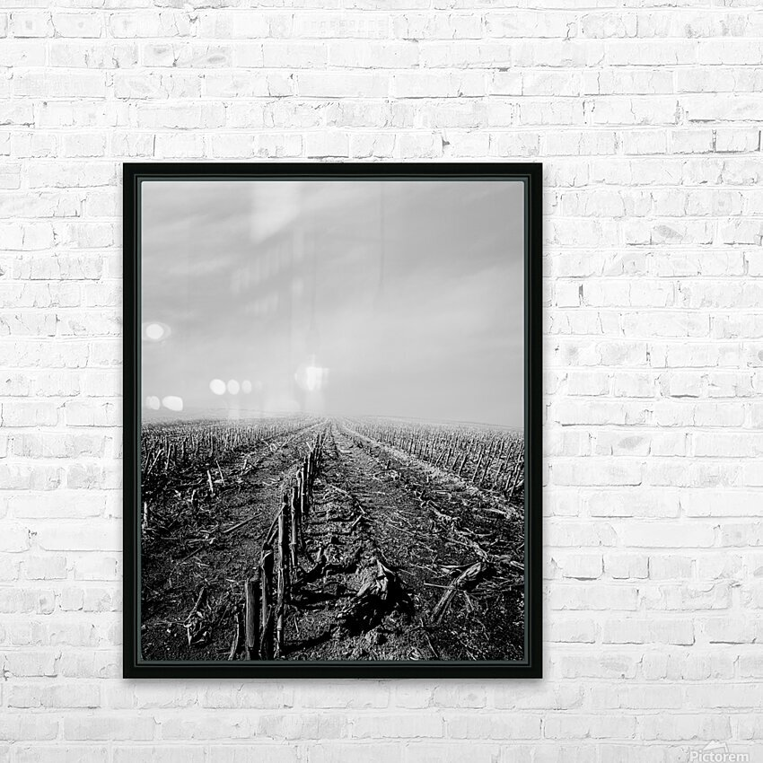 After The Harvest HD Sublimation Metal print with Decorating Float Frame (BOX)