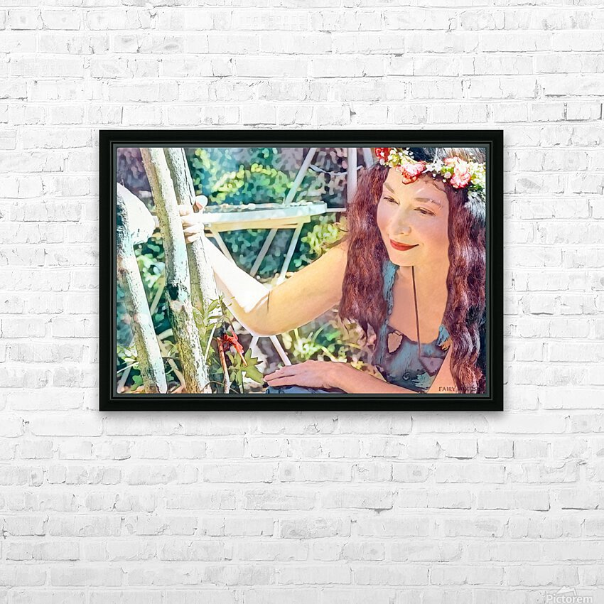 A TINY BEING WITH A BIG MISSION  Photo - Art Collection  3-6 HD Sublimation Metal print with Decorating Float Frame (BOX)