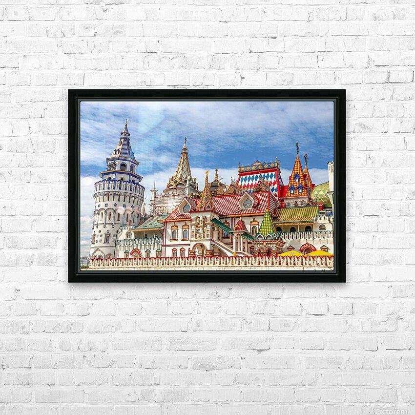 Kremlin HD Sublimation Metal print with Decorating Float Frame (BOX)