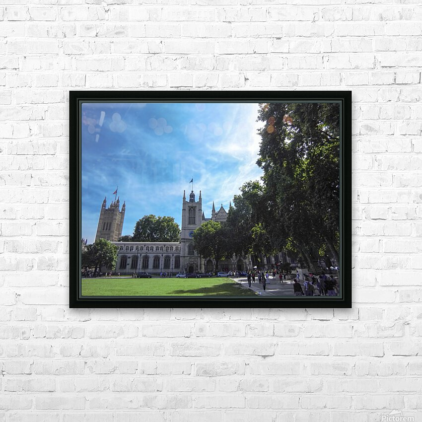 Snapshot in Time Quintessential London 5 of 5 HD Sublimation Metal print with Decorating Float Frame (BOX)