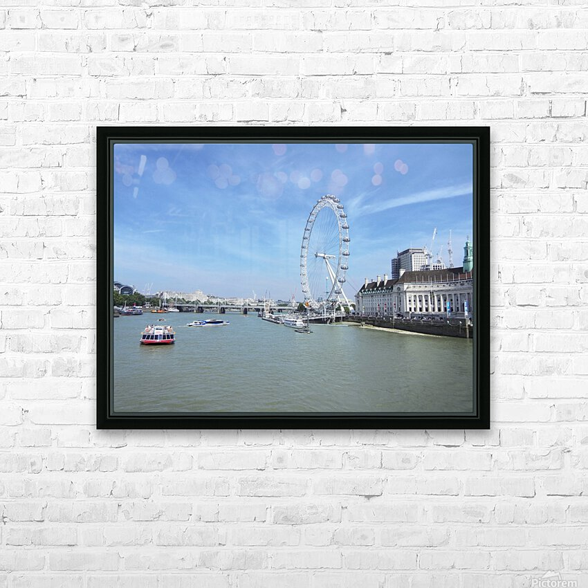 Snapshot in Time Quintessential London 4 of 5 HD Sublimation Metal print with Decorating Float Frame (BOX)