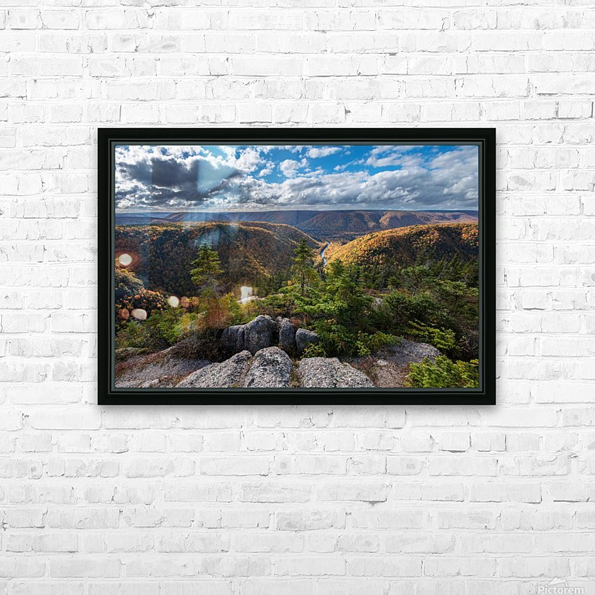 Cape Clear HD Sublimation Metal print with Decorating Float Frame (BOX)