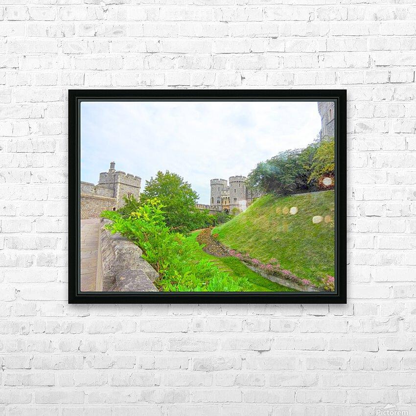 Windsor Castle 2 - Berkshire United Kingdom HD Sublimation Metal print with Decorating Float Frame (BOX)