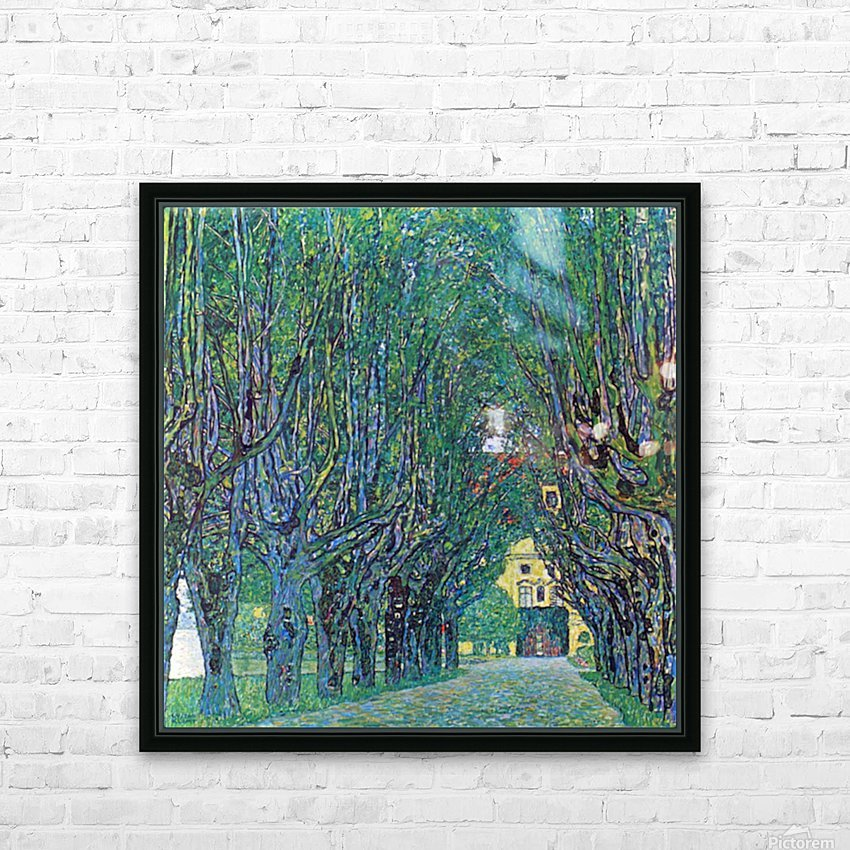Way to the Park by Klimt HD Sublimation Metal print with Decorating Float Frame (BOX)