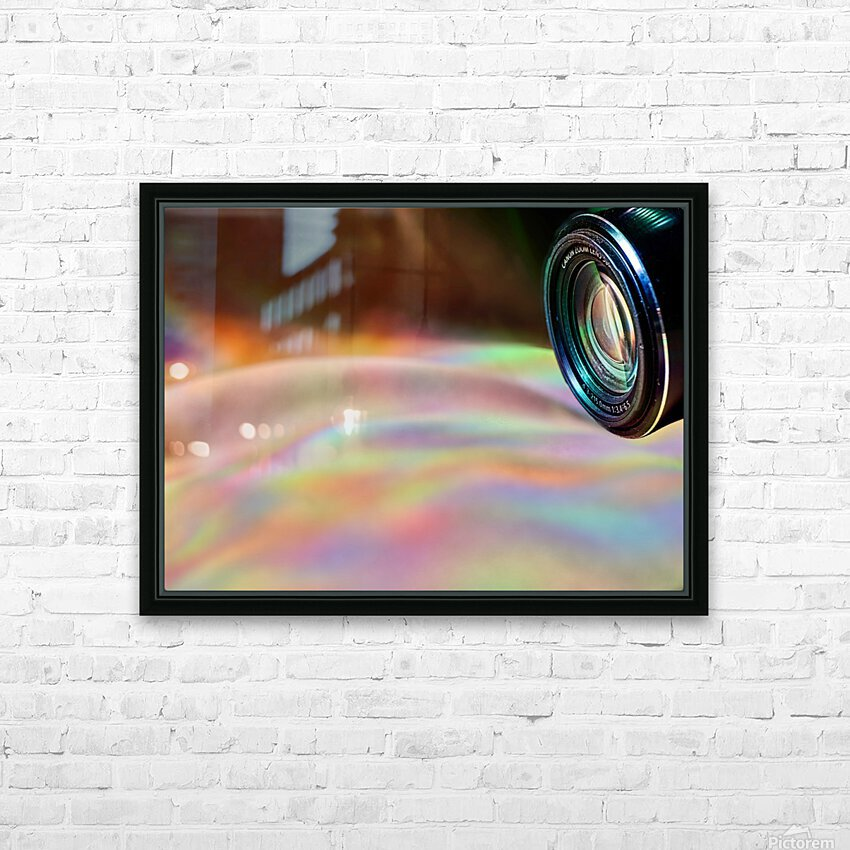 Through the Lens HD Sublimation Metal print with Decorating Float Frame (BOX)