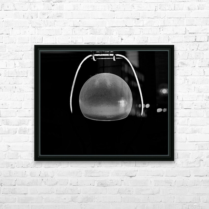 Ideas in Black and White HD Sublimation Metal print with Decorating Float Frame (BOX)