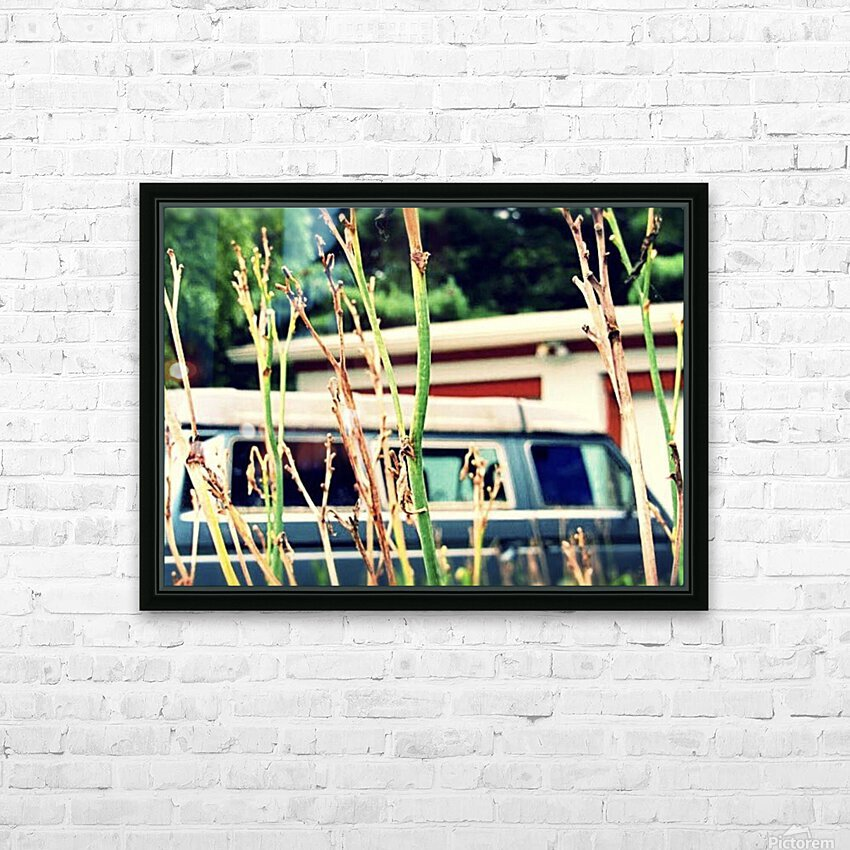 Van Life HD Sublimation Metal print with Decorating Float Frame (BOX)