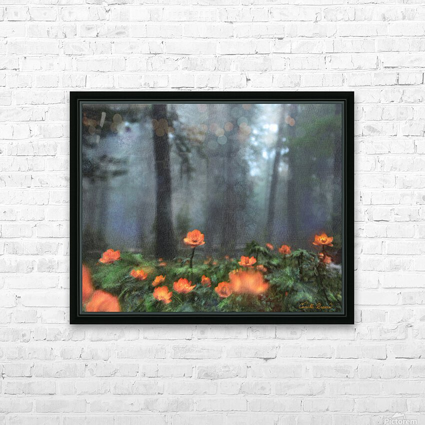 Peaceful Feeling HD Sublimation Metal print with Decorating Float Frame (BOX)