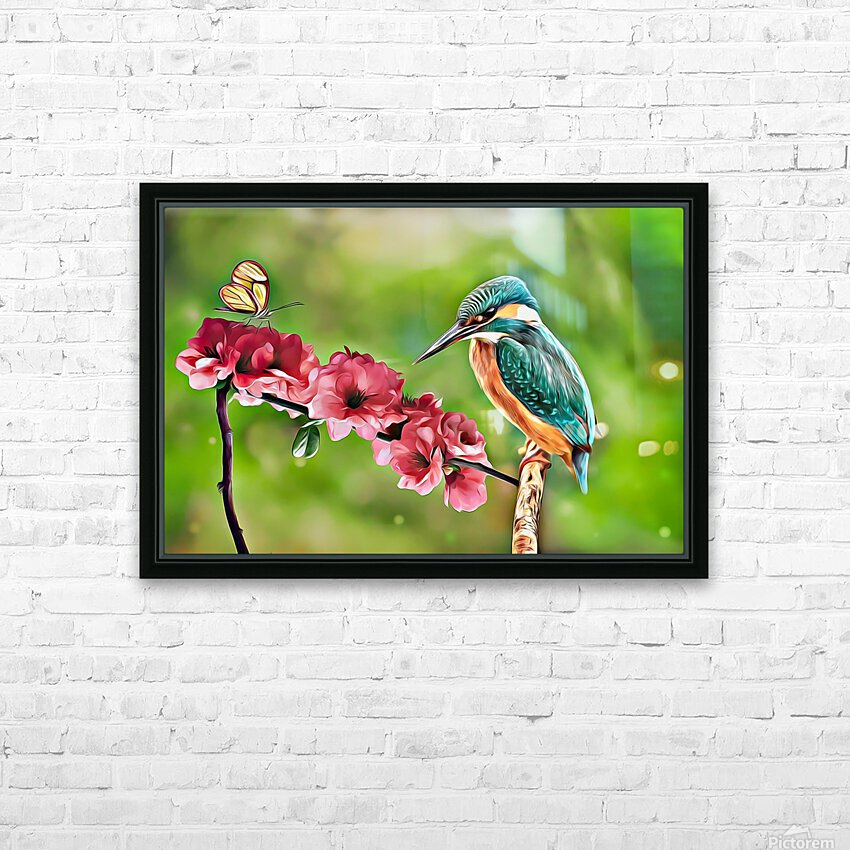 A Spring Friendship HD Sublimation Metal print with Decorating Float Frame (BOX)