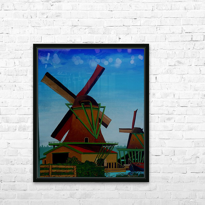 Catching The Wind HD Sublimation Metal print with Decorating Float Frame (BOX)