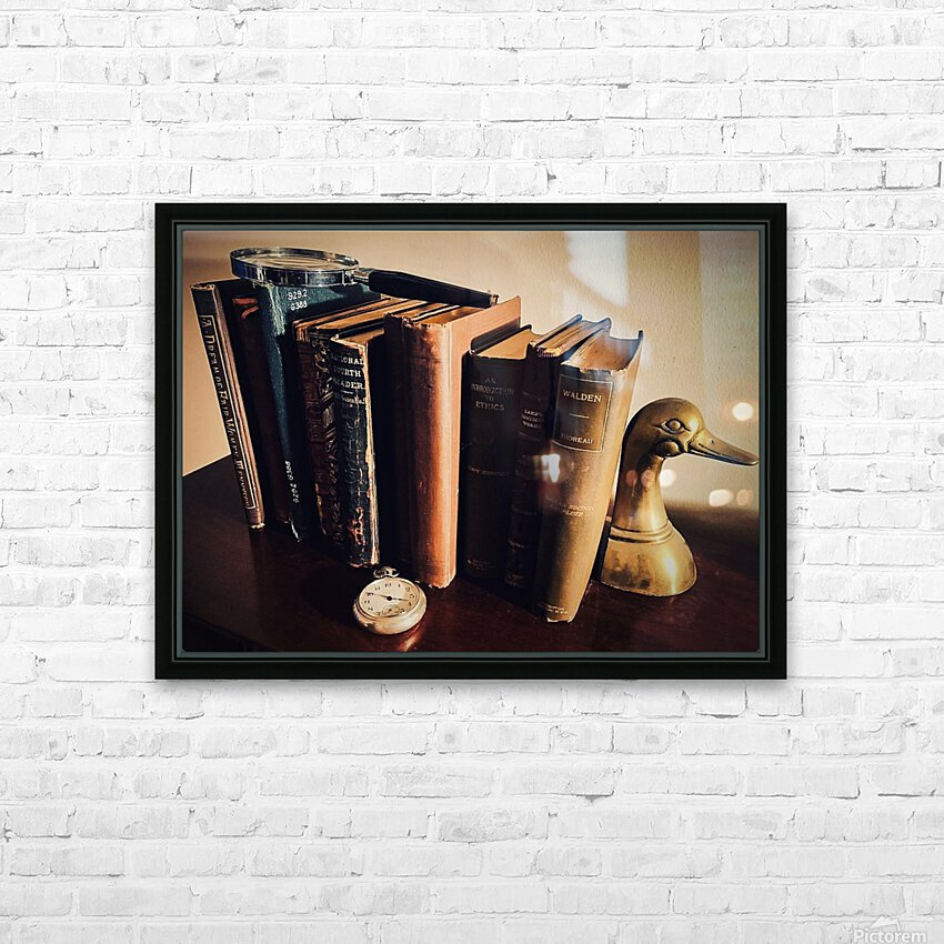 Studious HD Sublimation Metal print with Decorating Float Frame (BOX)