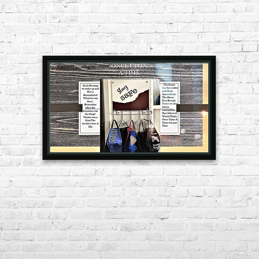 7.ONCE UPON A TIME  2  HD Sublimation Metal print with Decorating Float Frame (BOX)