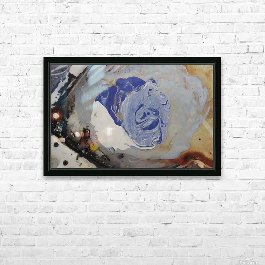 abstract women HD Sublimation Metal print with Decorating Float Frame (BOX)